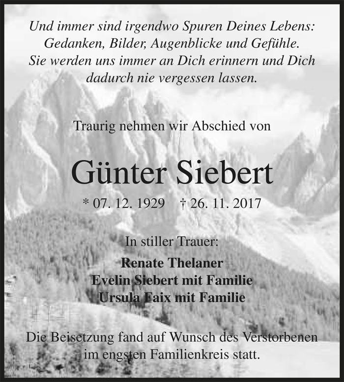 Günter Siebert