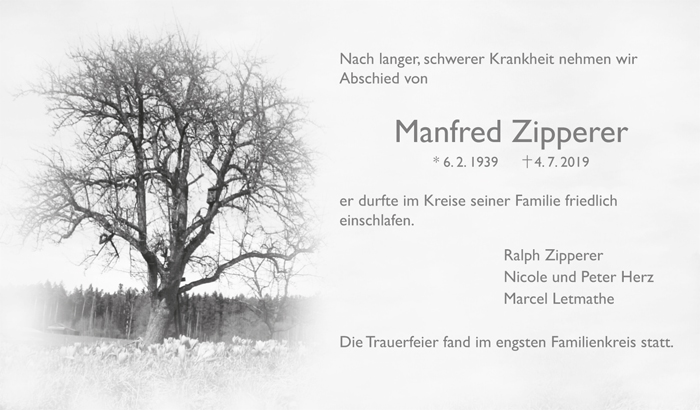 TA Manfred Zipperer