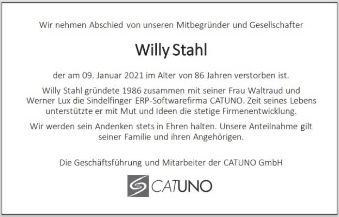 Willy Stahl